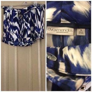 NY&Co Eva Mendes Shorts with Belt Size 14